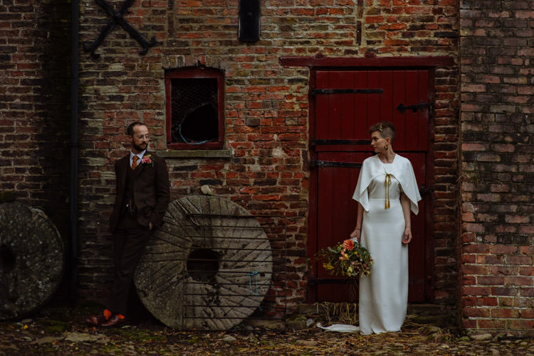 DIY Bride Groom Natural Photography Alternative Hippy Brick Forest Farm Field Garden Wedding | Homegrown Community Eclectic Rural Yorkshire Wedding https://toastofleeds.co.uk/