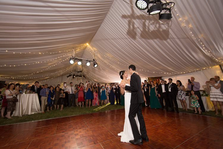 Outdoor Summer Field Rustic Marquee Tipi Tent First Dance | Black Tie Carnival Wedding Hot Air Balloon http://www.makingthemoment.com/
