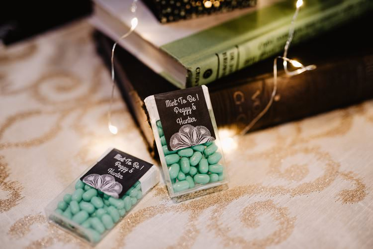 Outdoor Destination Classic Romantic Green Mint to Be Tic Tacs | Dreamy Blush Emerald Fairytale Wedding Oklahoma http://www.kelcyleighphotography.com/