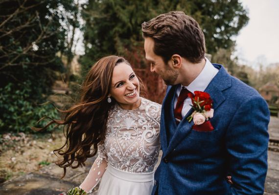 Raucous Artistic Wintry Wedding Voewood Norfolk https://www.luisholden.com/