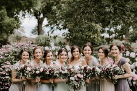 Botanical Summer Garden Wedding Nottingham Grace Elizabeth Photo & Film