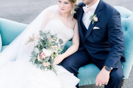 Romantic Spring Pastel Farm Wedding Ashley Spangler Photography
