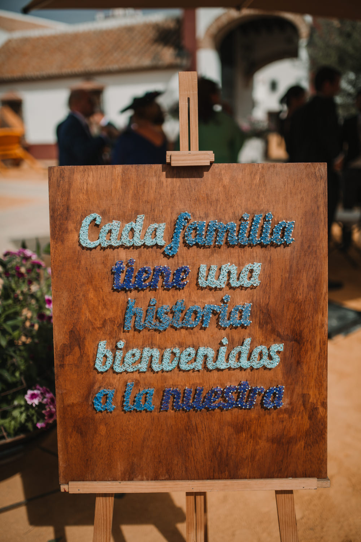 Outdoor Seville Destination Drinks Reception Spanish Sewn | Colorful and Heartfelt Wedding in Spain Boda&Films