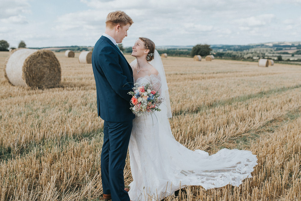 Countryside Wedding Cotswolds Kate Waters Photography