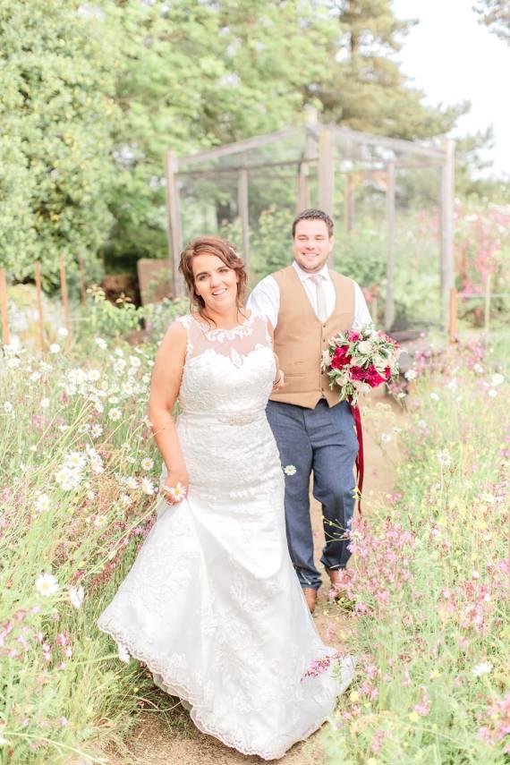 Marsala Gold Wedding Carn Patrick Photography