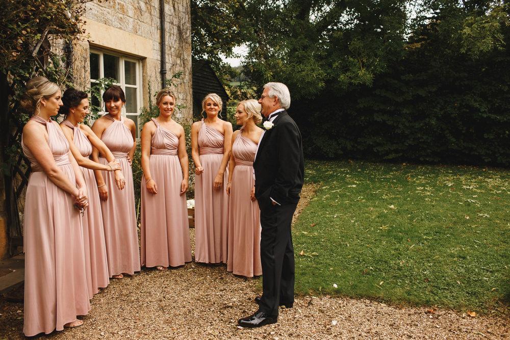Cotswolds Royal Castle Summer Autumn Traditional Classic Elegant Bridesmaids Blush Pink Dresses   Sudeley Castle Wedding ARJ Photography
