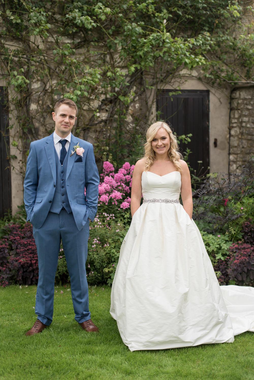 Stephanie Allin Dress Gown Bride Bridal Sweetheart Pockets Strapless Train Tythe Barn Priston Mill Wedding Eleanor Jane Photography