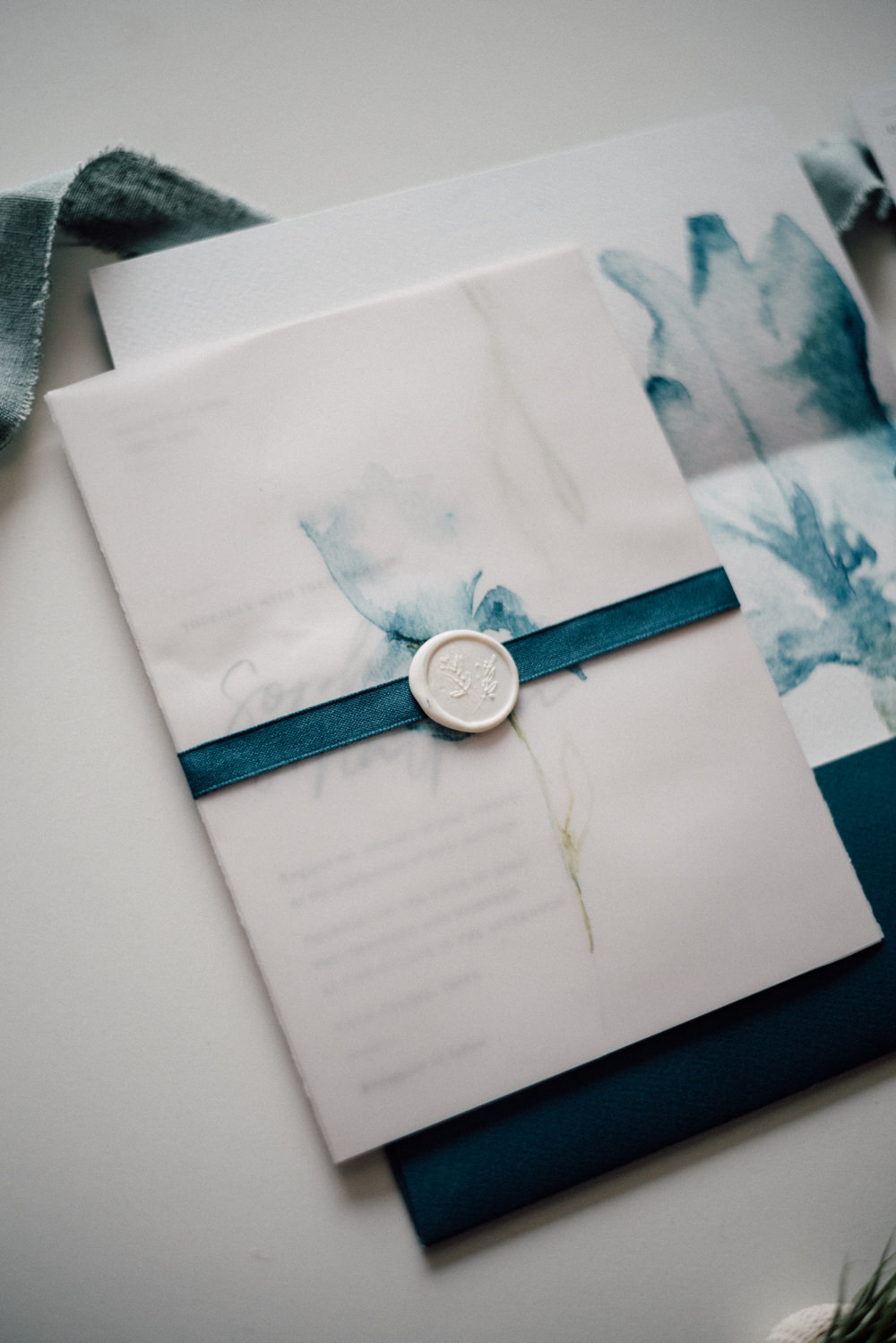 Outdoor Wild Nature Destination Spain Europe Coastal Styled Shoot Beach Stationery Watercolor Styling White Wax Seal   Blue Ibiza Elopement Ideas and Surprise Proposal Serena Genovese Photography