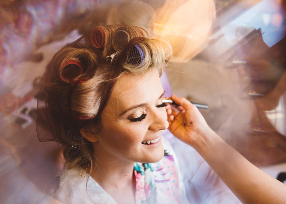 Make Up Bride Bridal George Rye Wedding Hollie Carlin Photography