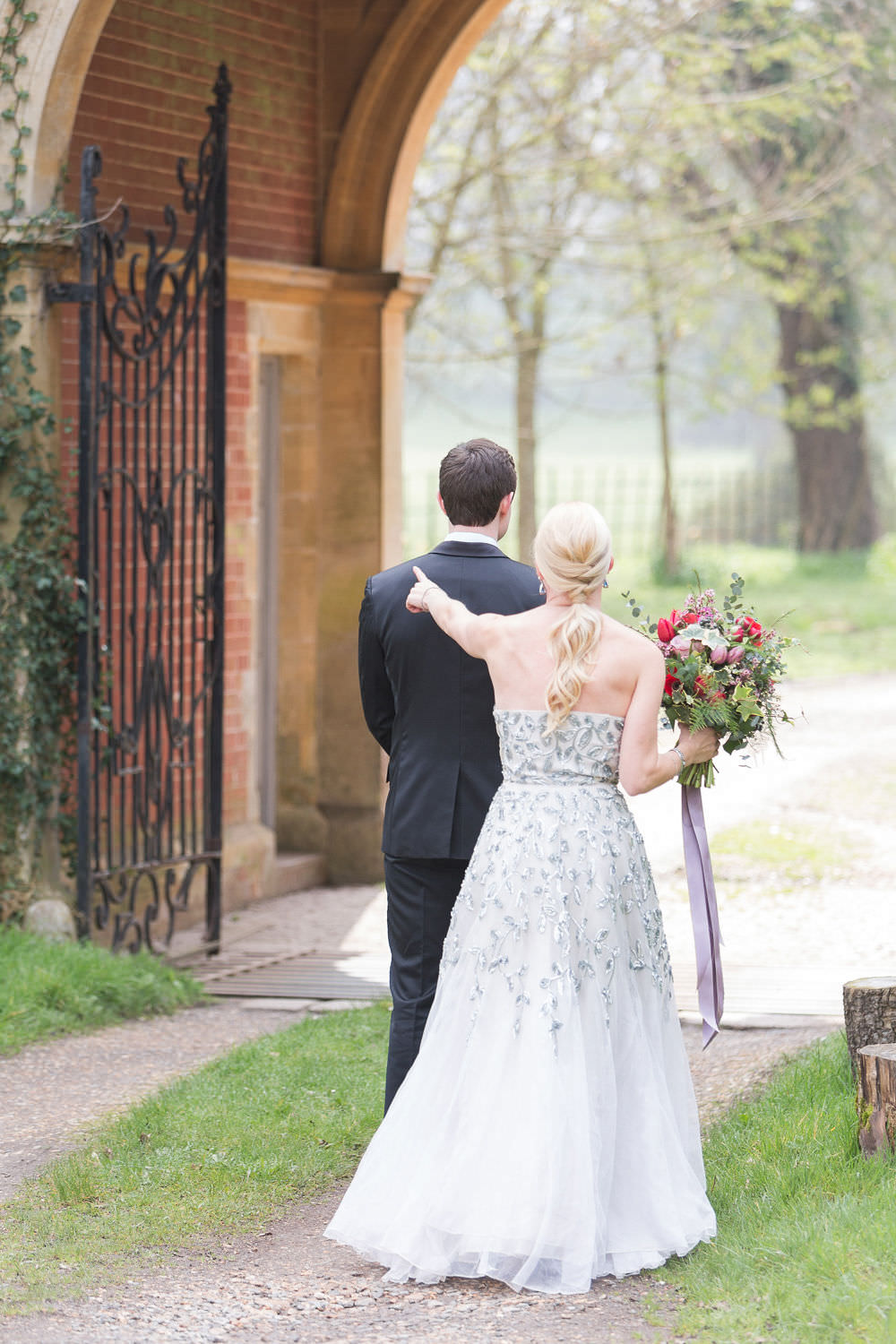 First Look Highcliffe Castle Wedding Bowtie and Belle Photography