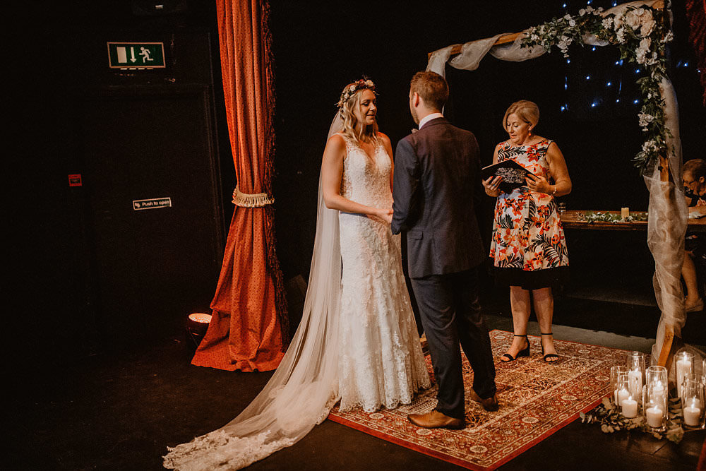 Puppet Theatre Ceremony Norwich Cathedral Wedding Camilla Andrea Photography