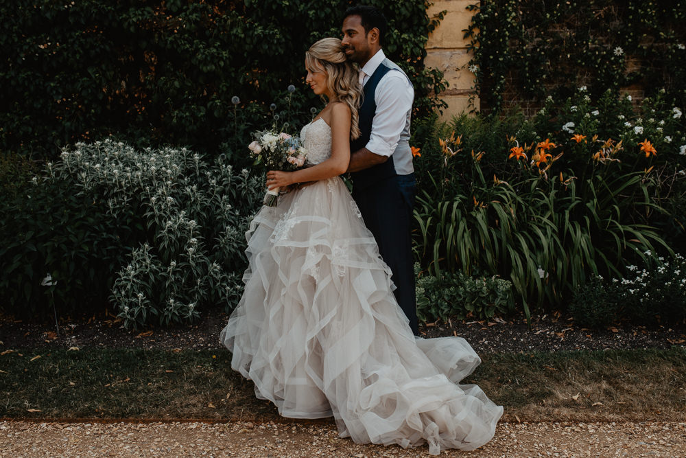 Osborne House Isle of Wight Natural Classic Pink Pastel Bridal Bouquet Bride Groom Romantic Portraits Garden Blush Stella York Dress | Timeless Royal Inspired Seaside Wedding Holly Cade Photography