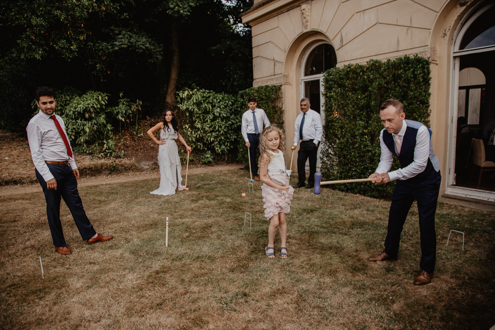 Osborne House Isle of Wight Natural Classic Outdoor Reception Party Bride Groom Family Games | Timeless Royal Inspired Seaside Wedding Holly Cade Photography