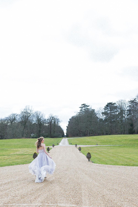Modern Ballet Inspired Editorial Fine Art Outdoor Somerley House Gardens Bride Lilac Dress Naomi Neoh | Romantic Soft Wedding Ideas Siobhan H Photography