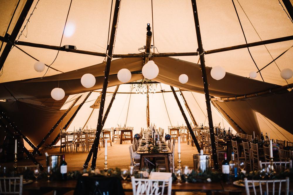 Tipi Lanterns Decor Alcott Weddings Oobaloos Photography