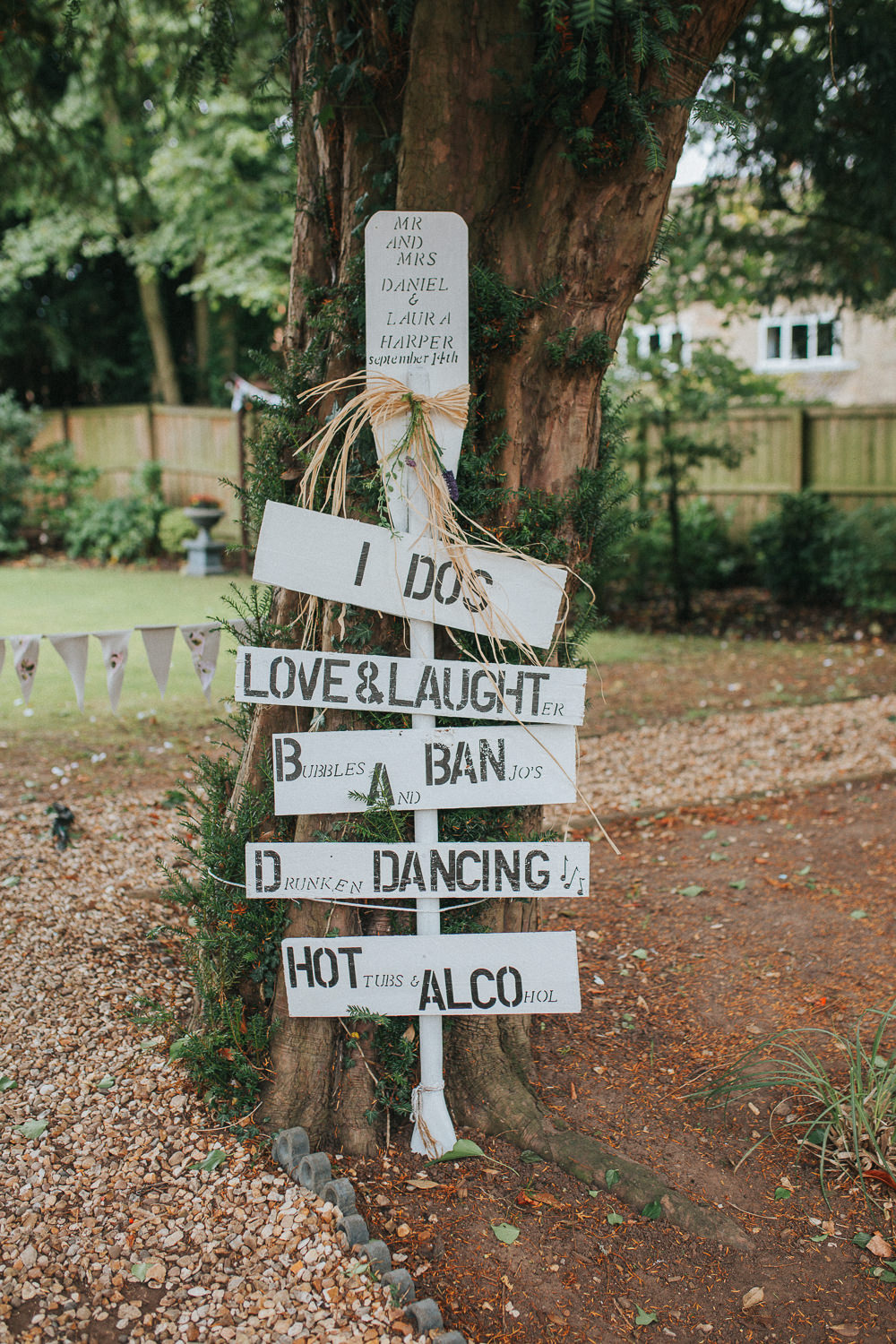 Sign Post Painted Wooden Signage Crab Lobster Wedding A Little Picture