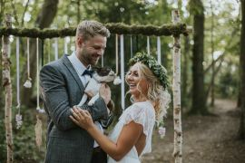 Modern Bohemian Woodland Wedding Ideas Lily Lane Photography