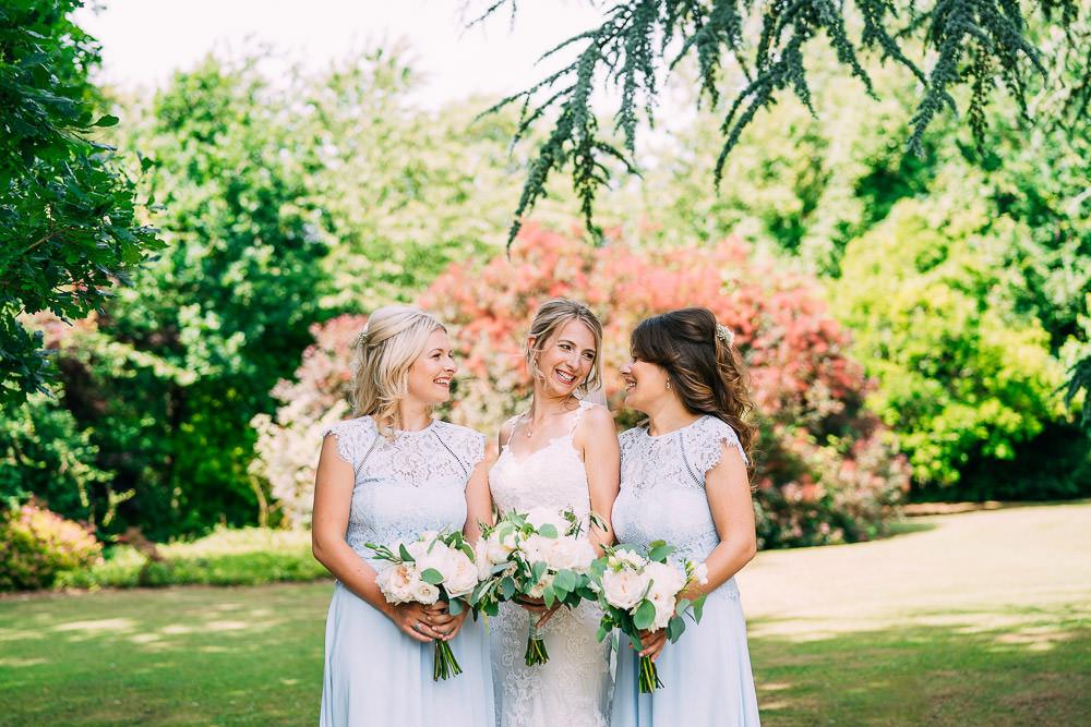 Pale Blue Bridesmaid Dresses Old Down Estate Wedding Albert Palmer Photography