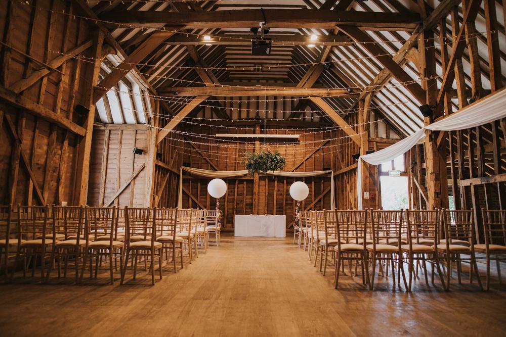 Rustic Barn Ceremony Tewin Bury Farm Wedding Brook Rose Photography