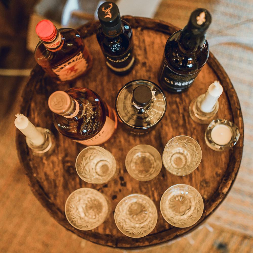 Drinks Cocktails Bar Tipi Garden Wedding Amy Jordison Photography