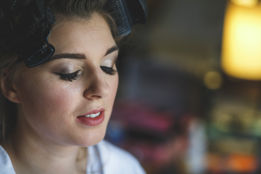 Bride Bridal Make Up Beauty Christmas Wedding Gareth Newstead Photography