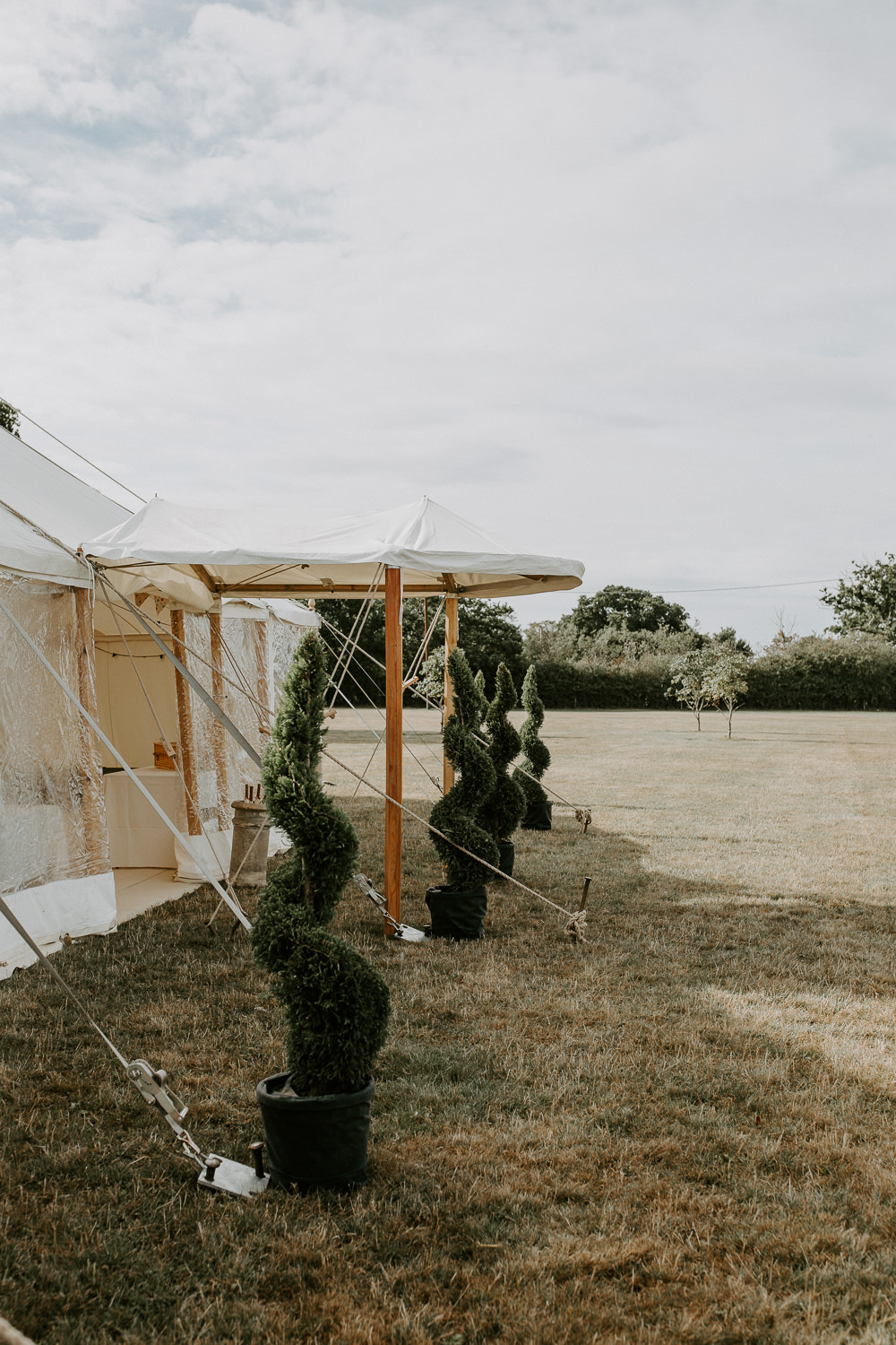 Pole Tent City Cathedral Country Marquee Wedding Siobhan Beales Photography
