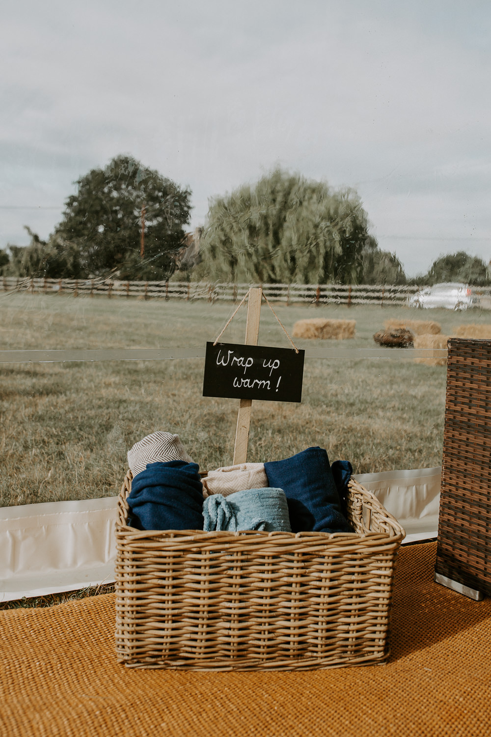 Blanket Basket Hamper City Cathedral Country Marquee Wedding Siobhan Beales Photography