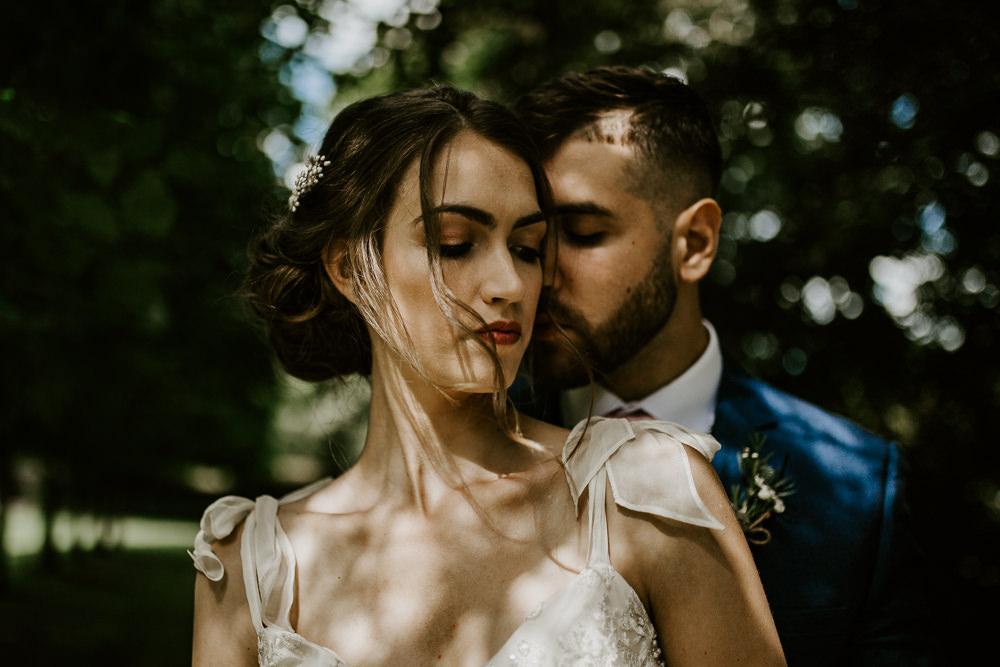 Blue Rich Romantic Wedding Ideas Daze of Glory Photography Catherine Spiller Photography