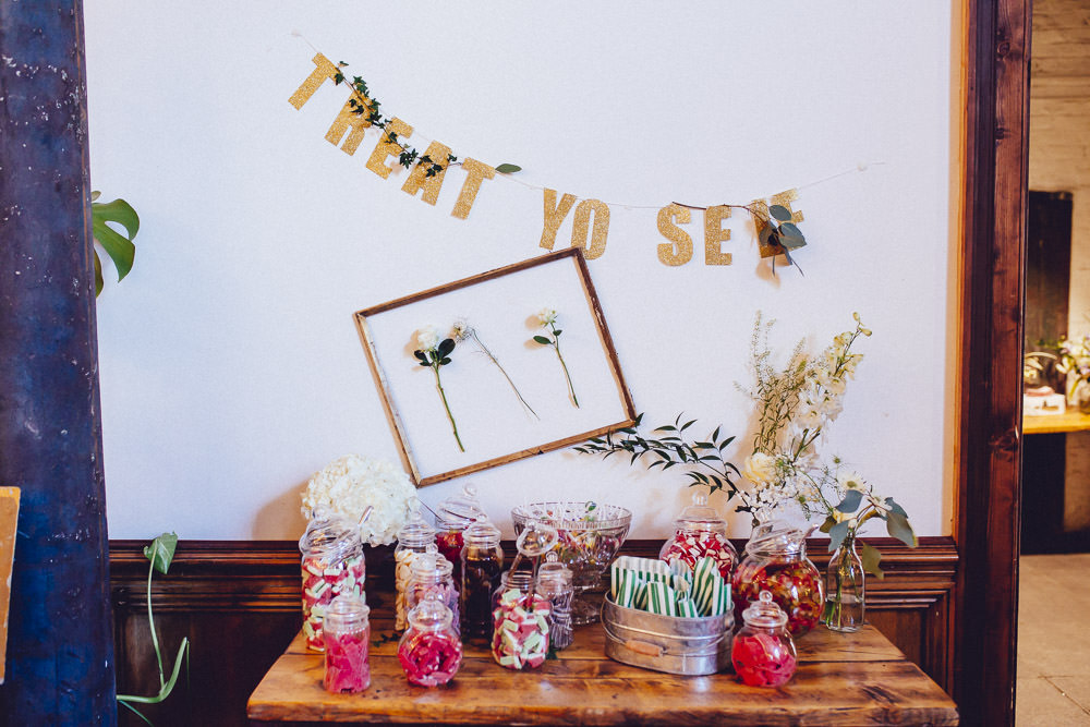 Sweets Sweetie Table Clapton Country Club Wedding Curious Rose Photography