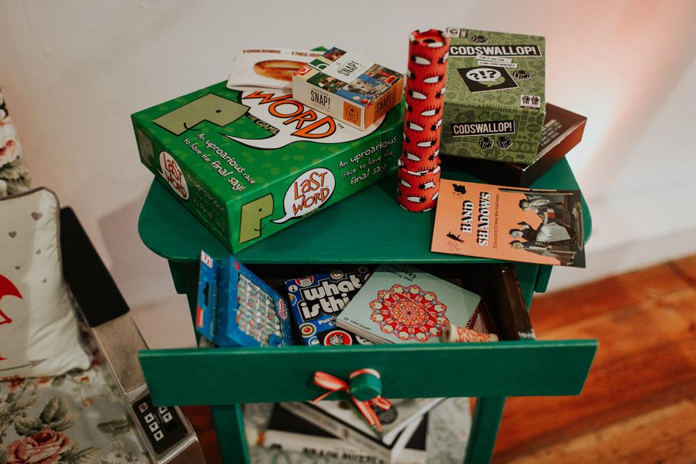 Board Games Pennard House Wedding Oxi Photography