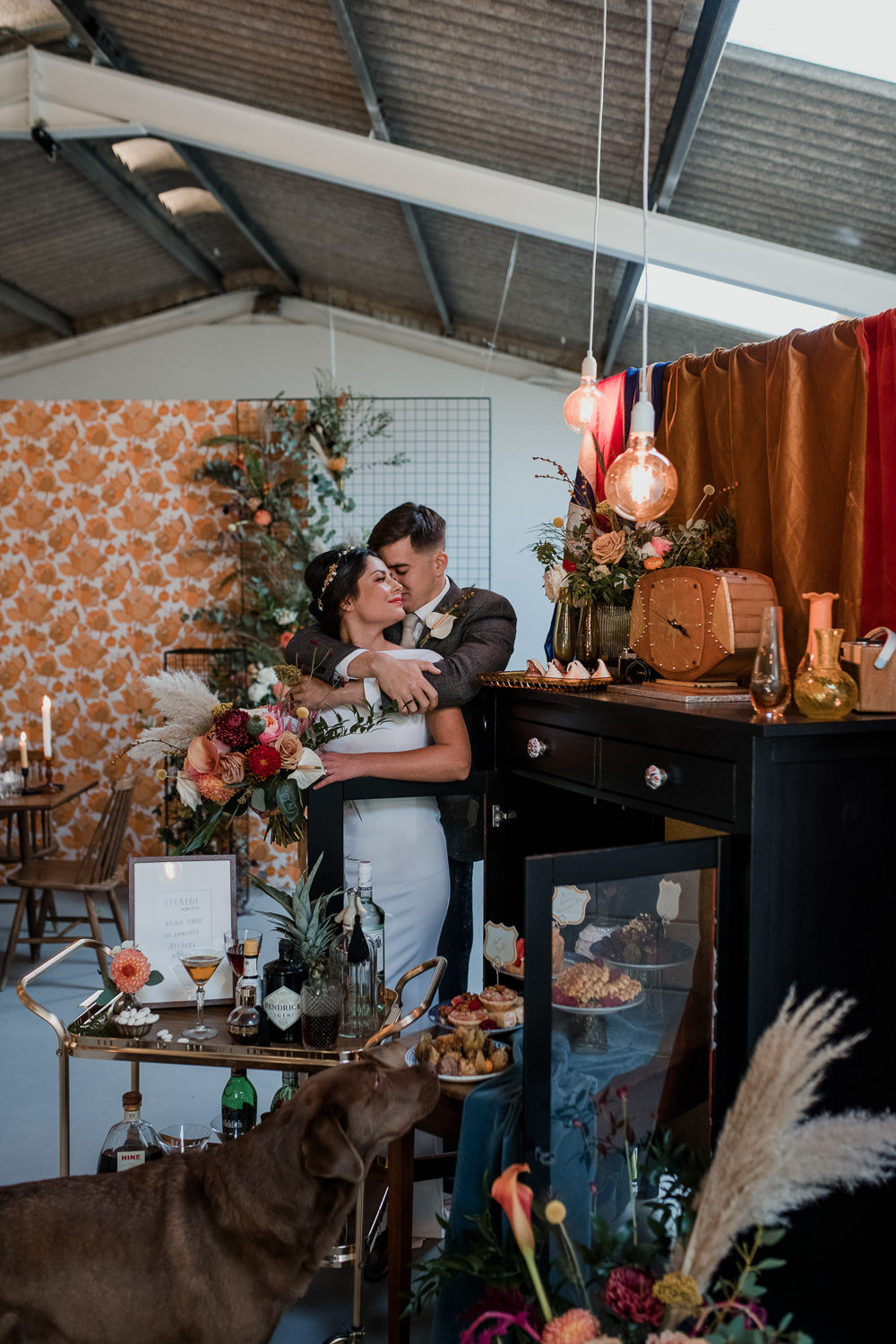 1970 Retro Mid Century Wedding Ideas Laura Martha Photography
