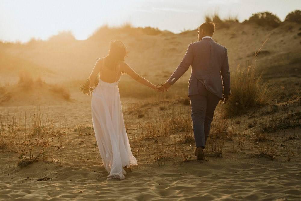 Bohemian Beach Greece Destination Wedding Lighthouse Photography