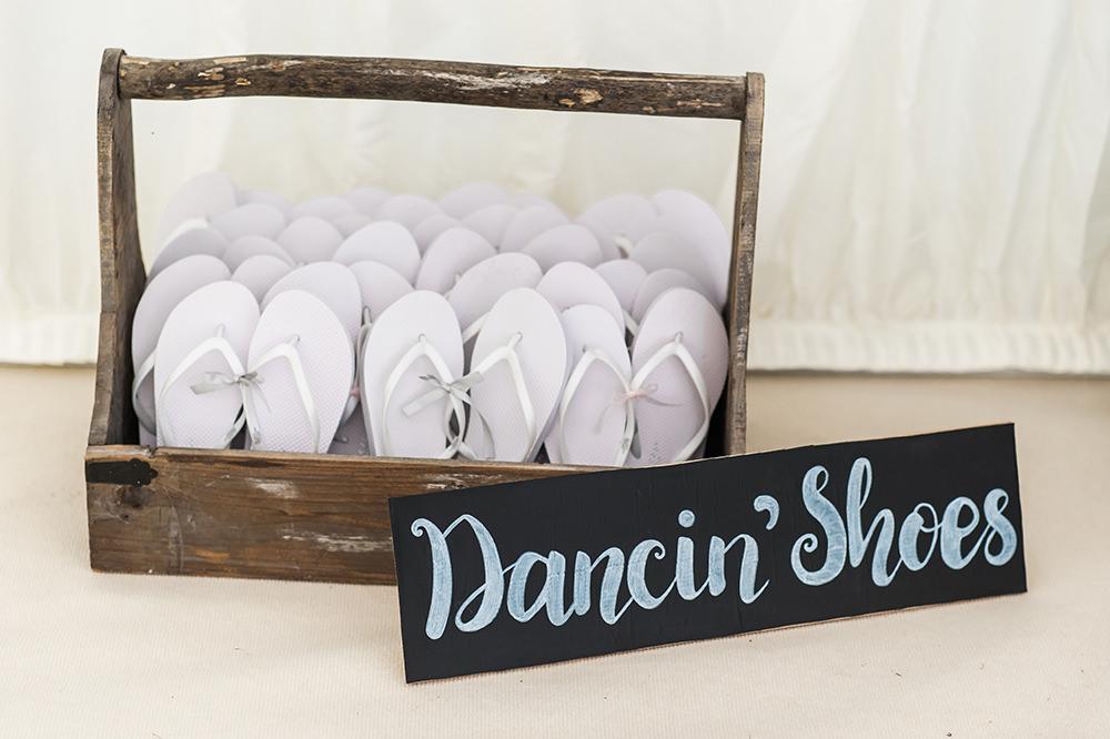 Dancing Shoes Flip Flops Edmondsham House Wedding Darima Frampton Photography