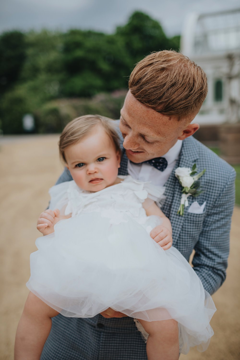Flower Girl Sefton Park Wedding Bloom Weddings