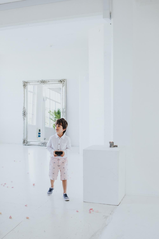 Page Boy Shorts Wimborne House Wedding Eva Photography
