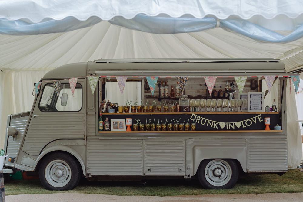 Citroen Van Bar Vintage Felin Newydd House Wedding Christopherian.co.uk