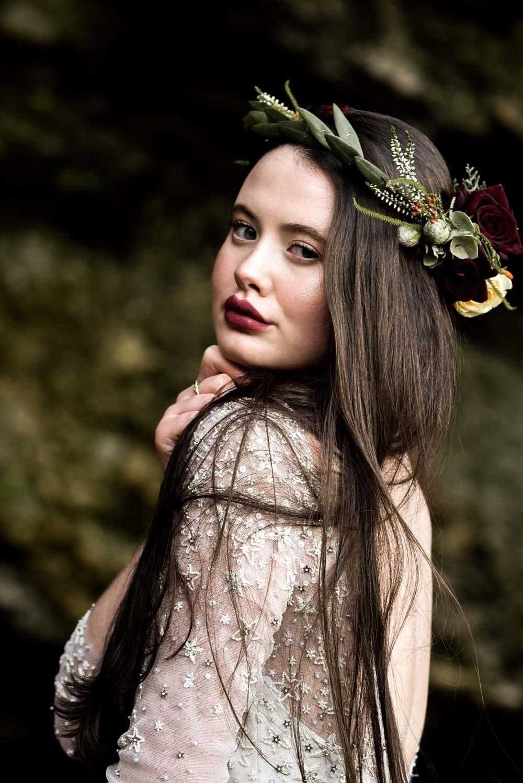 Bride Bridal Make Up Flower Crown Game Of Thrones Wedding Tara Florence