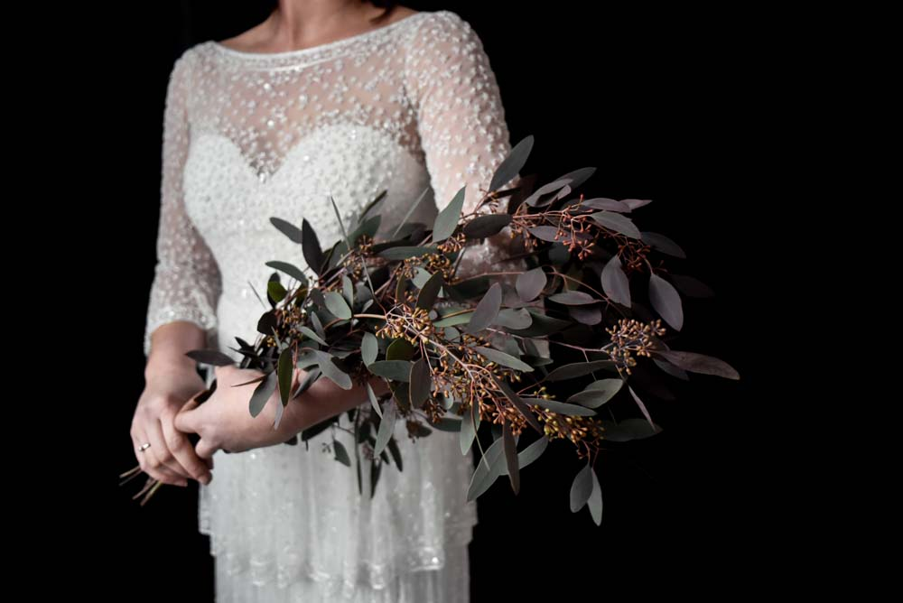 Bride Bridal Bouquet Flowers Greenery Foliage Game Of Thrones Wedding Tara Florence