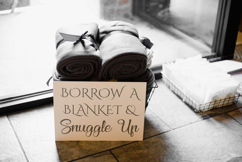 Blanket Basket Hornington Manor Wedding Chris Barber Photography