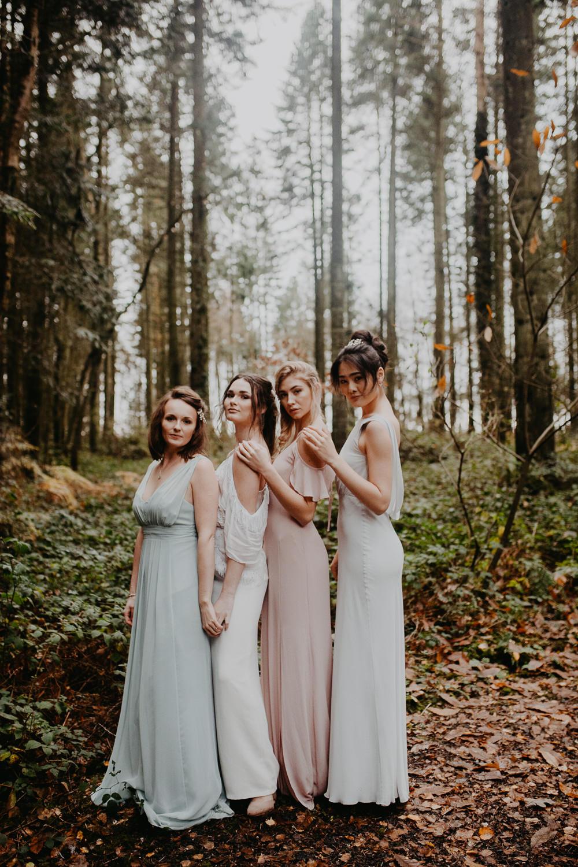 Outdoor Woodland Wedding Ideas Geometric Meraki Wedding Photography
