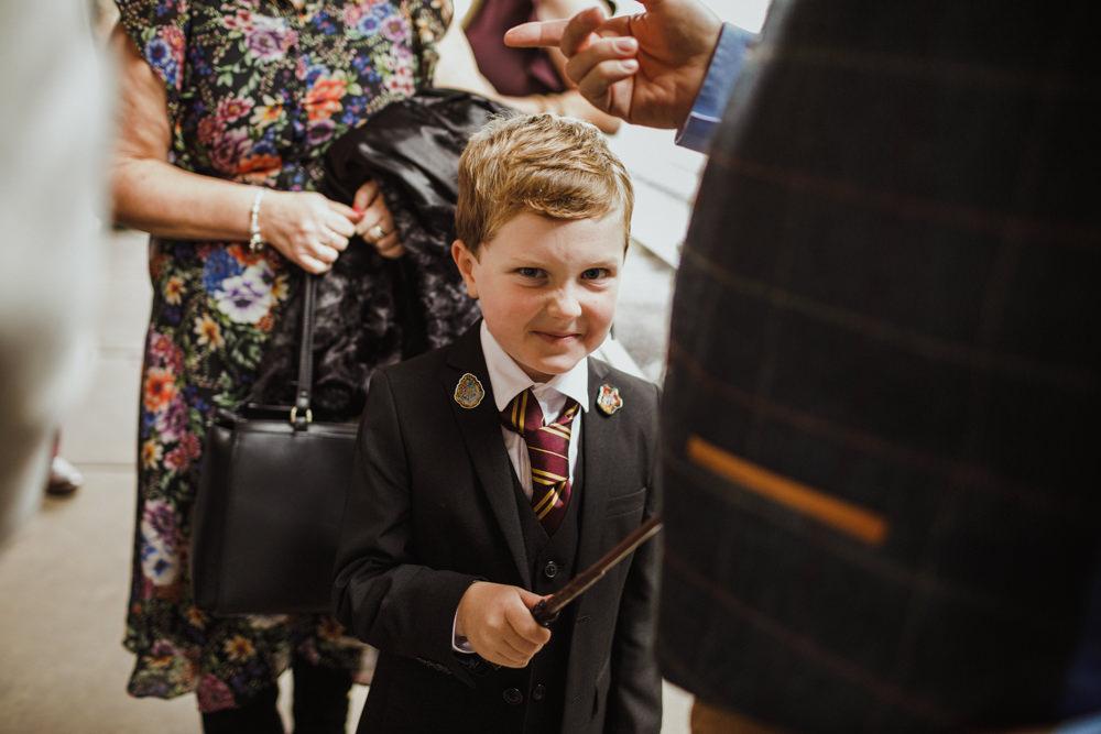 Page Boy Train Station Harry Potter Wedding Photography34