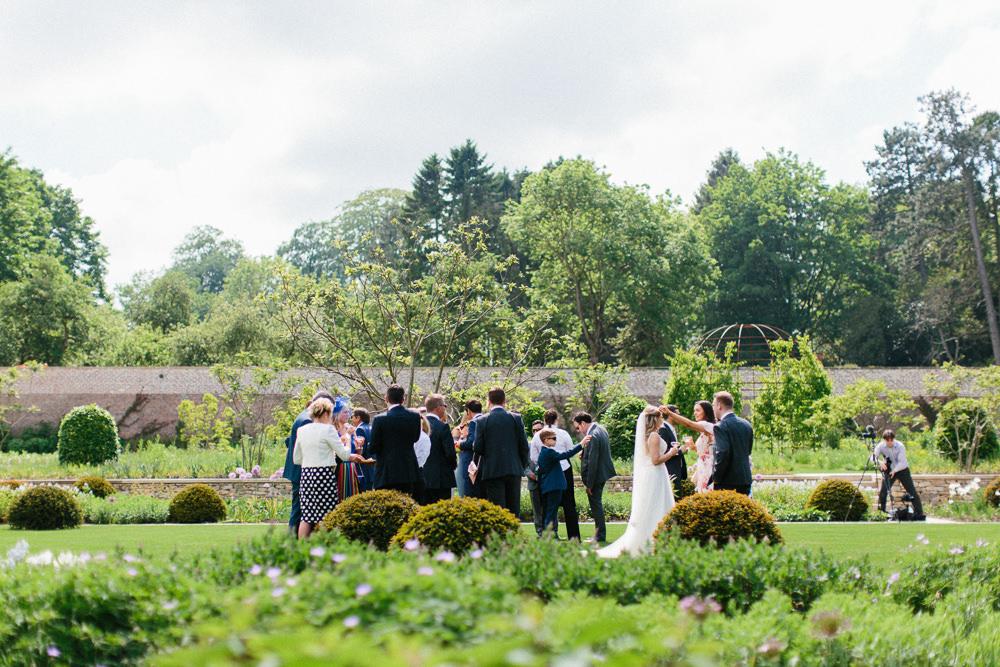 Garden Ceremony Wedding Melissa Beattie Photography
