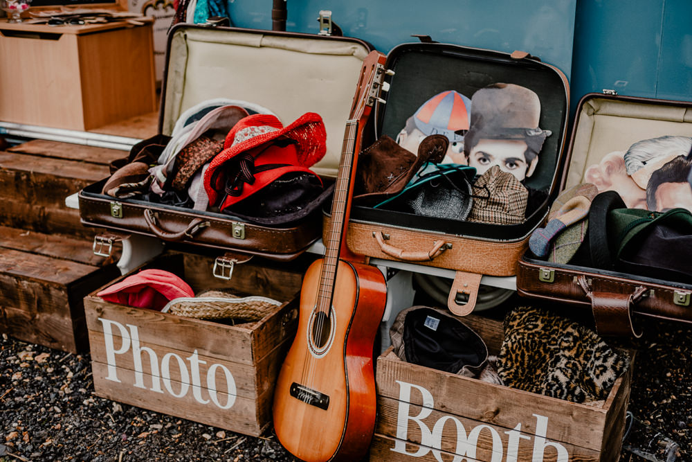 Photo Booth Props Rustic Barn Wedding Louise Griffin Photography