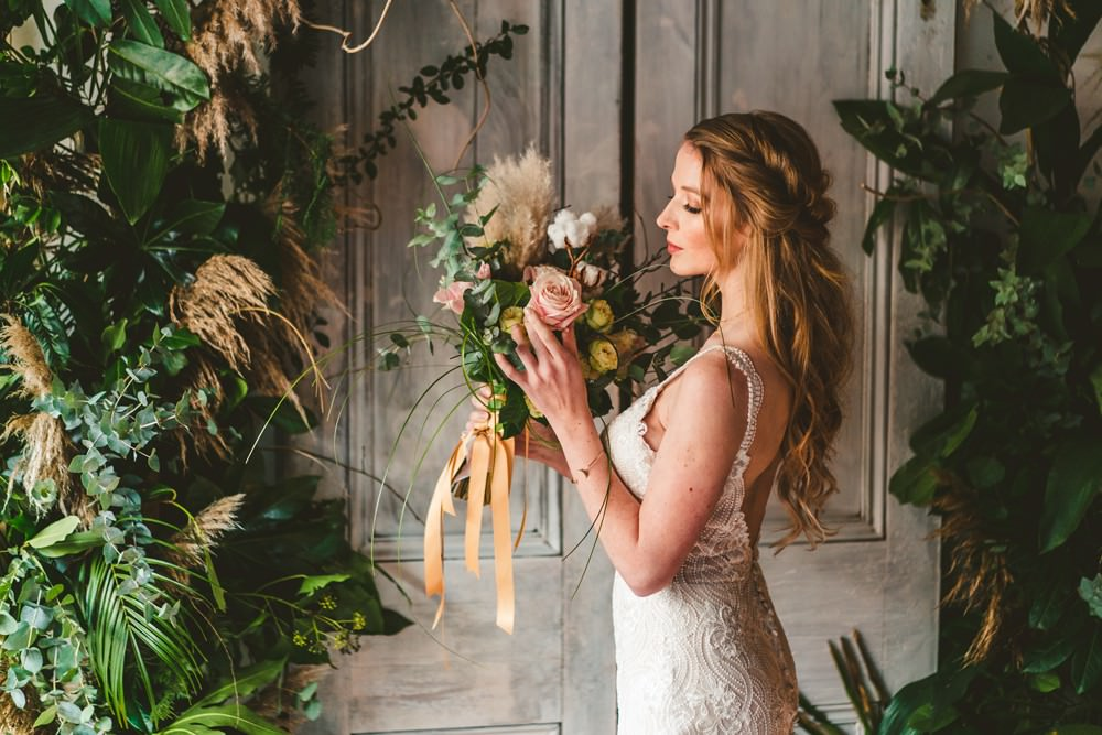 Pampas Grass Wedding Ideas Tim Stephenson Photography