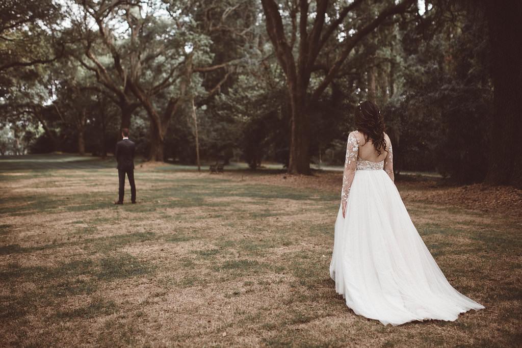 First Look Charleston Wedding Katherine Dalton Photography