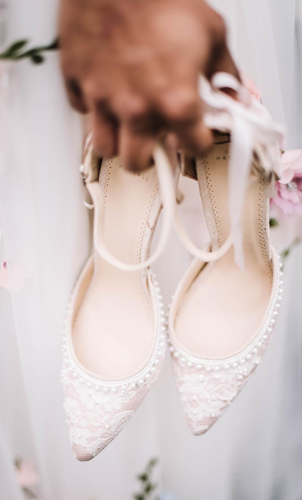 Bride Bridal Shoes Heels Strappy Coral Floral Wedding Ideas Birgitta Zoutman Photography