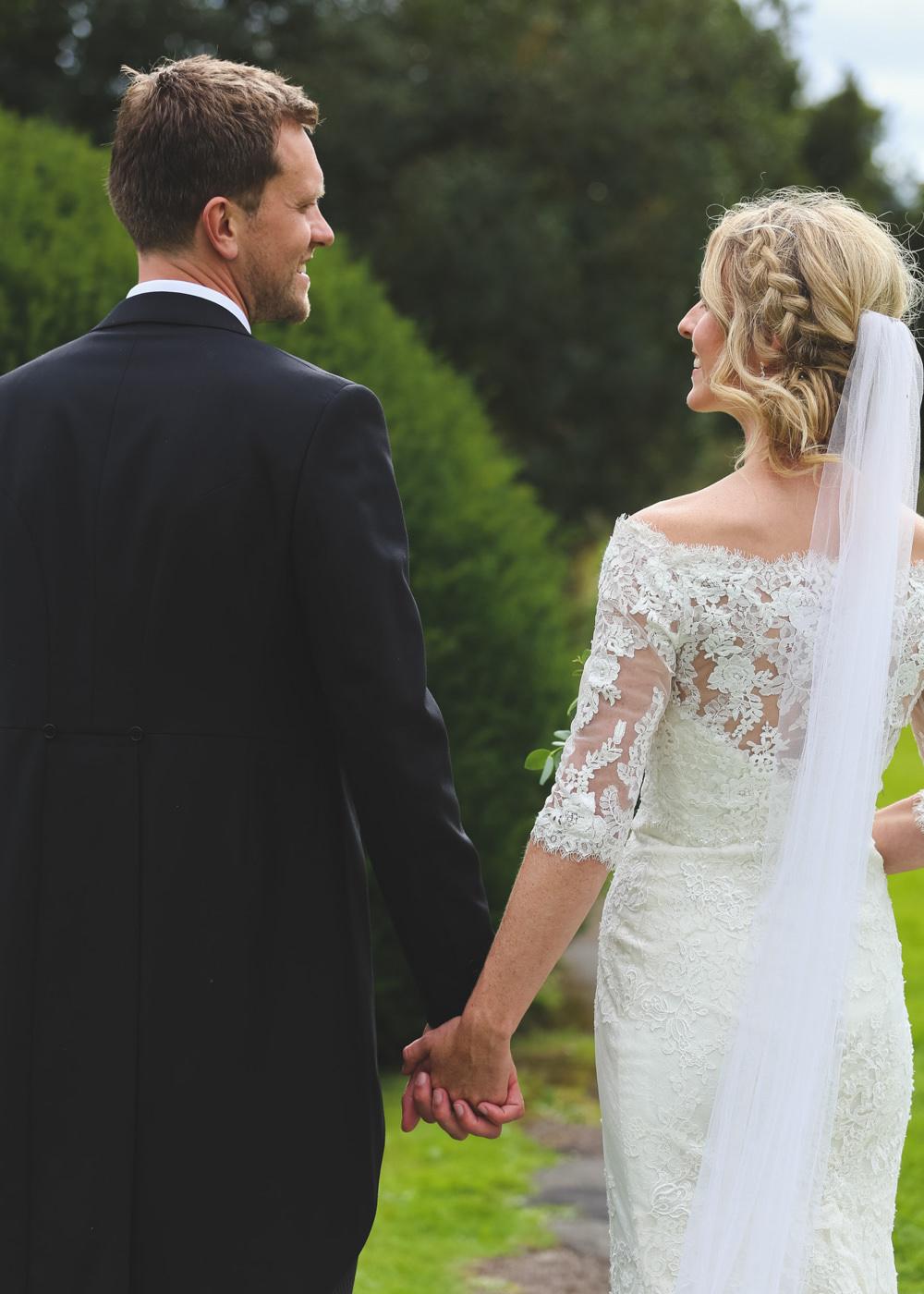 Bride Bridal Hair Style Up Do Plait Braid Veil Airbnb Wedding Pickavance Weddings
