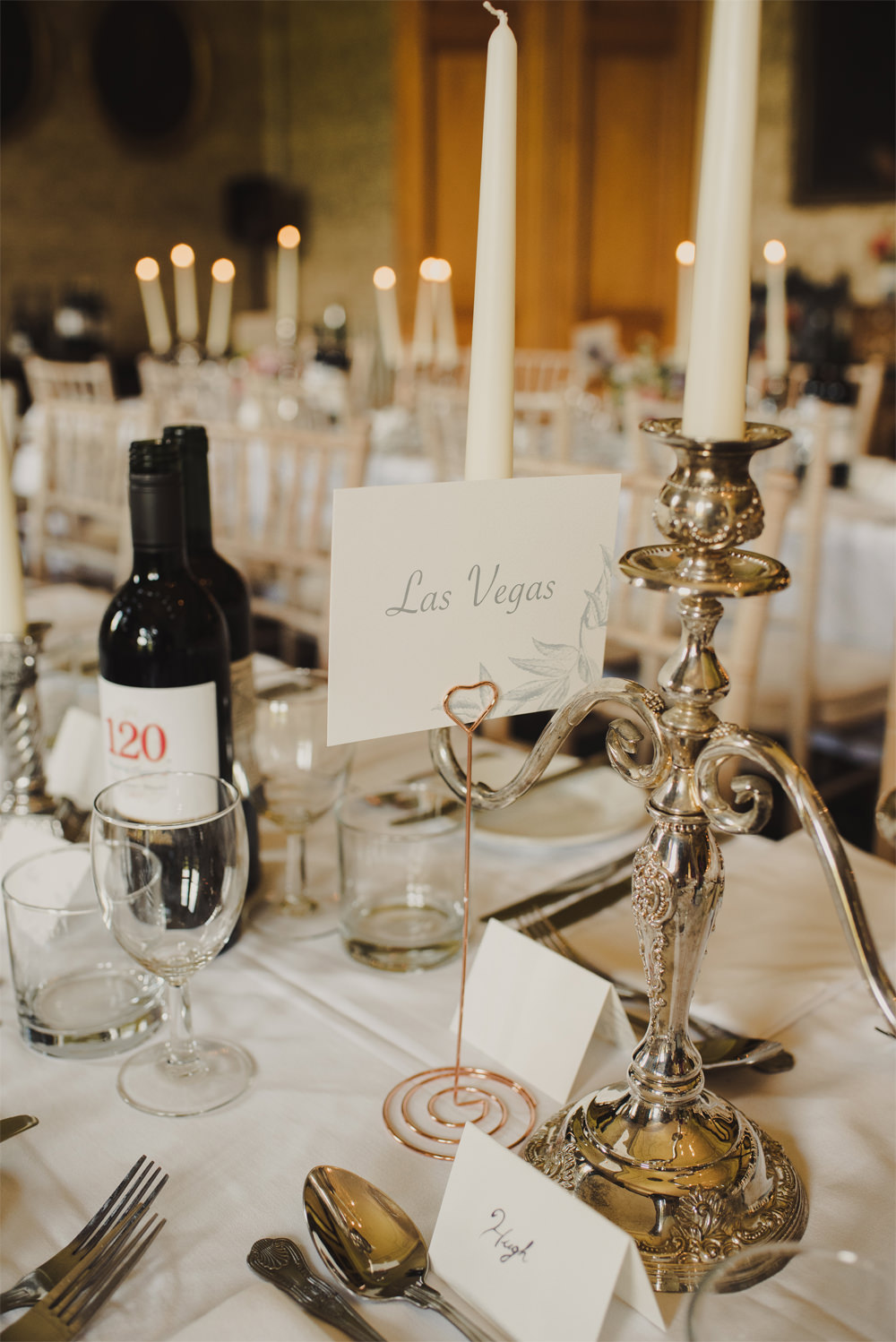 Table Name Number Cambo Estate Wedding Anna Urban Wedding Photography