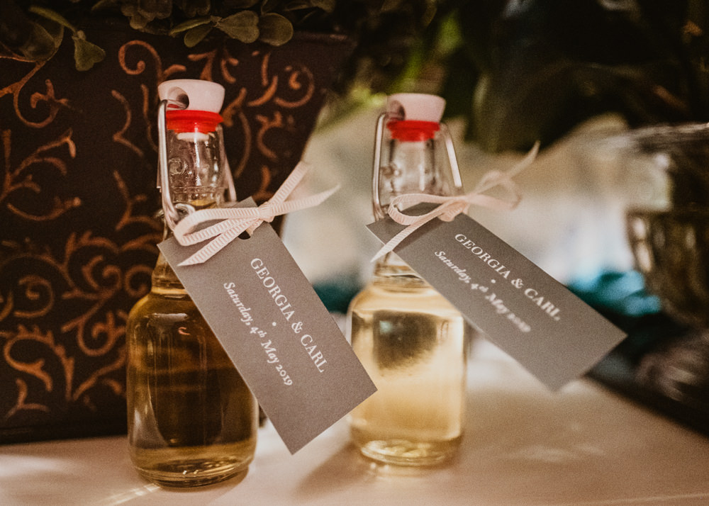 Favours Limoncello Middlethorpe Hall Wedding Andy Withey Photography
