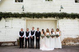 Bridesmaid Bridesmaid Dress Dresses Mismatched White Boho Groomsmen Waistcoats Missouri Wedding Nick Mehn Photography